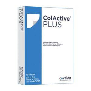 پانسمان کلاژن سدیم آلژینات کل اکتیو پلاس,کل اکتیو پلاس,ColActive Plus,collagen